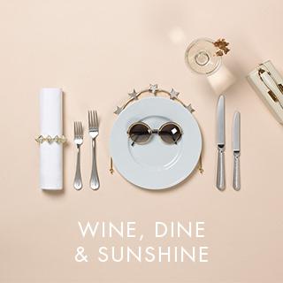 WINE, DINE & SUNSHINE