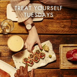 TREAT YOURSELF TUESDAYS