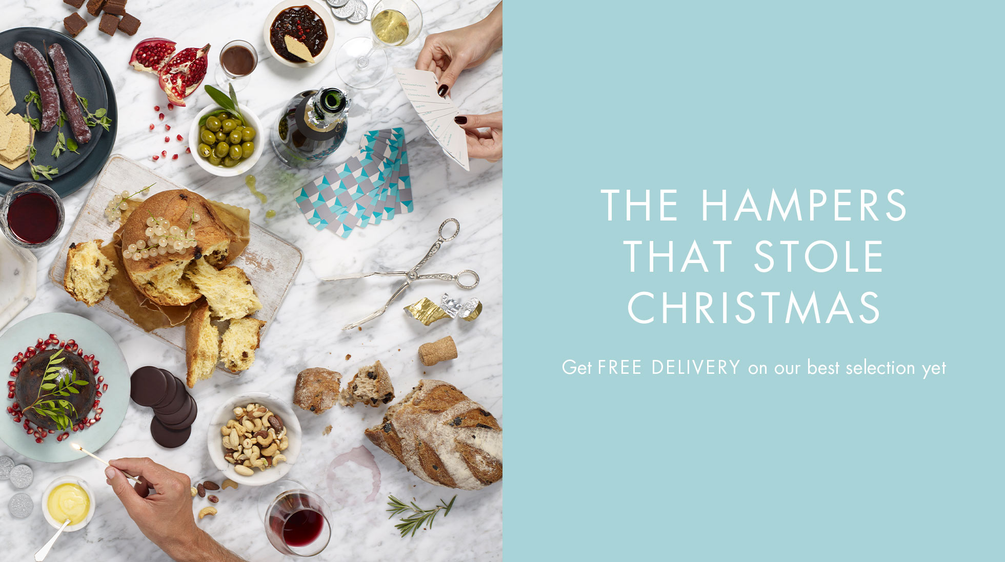 THE HAMPERS THAT STOLE CHRISTMAS
