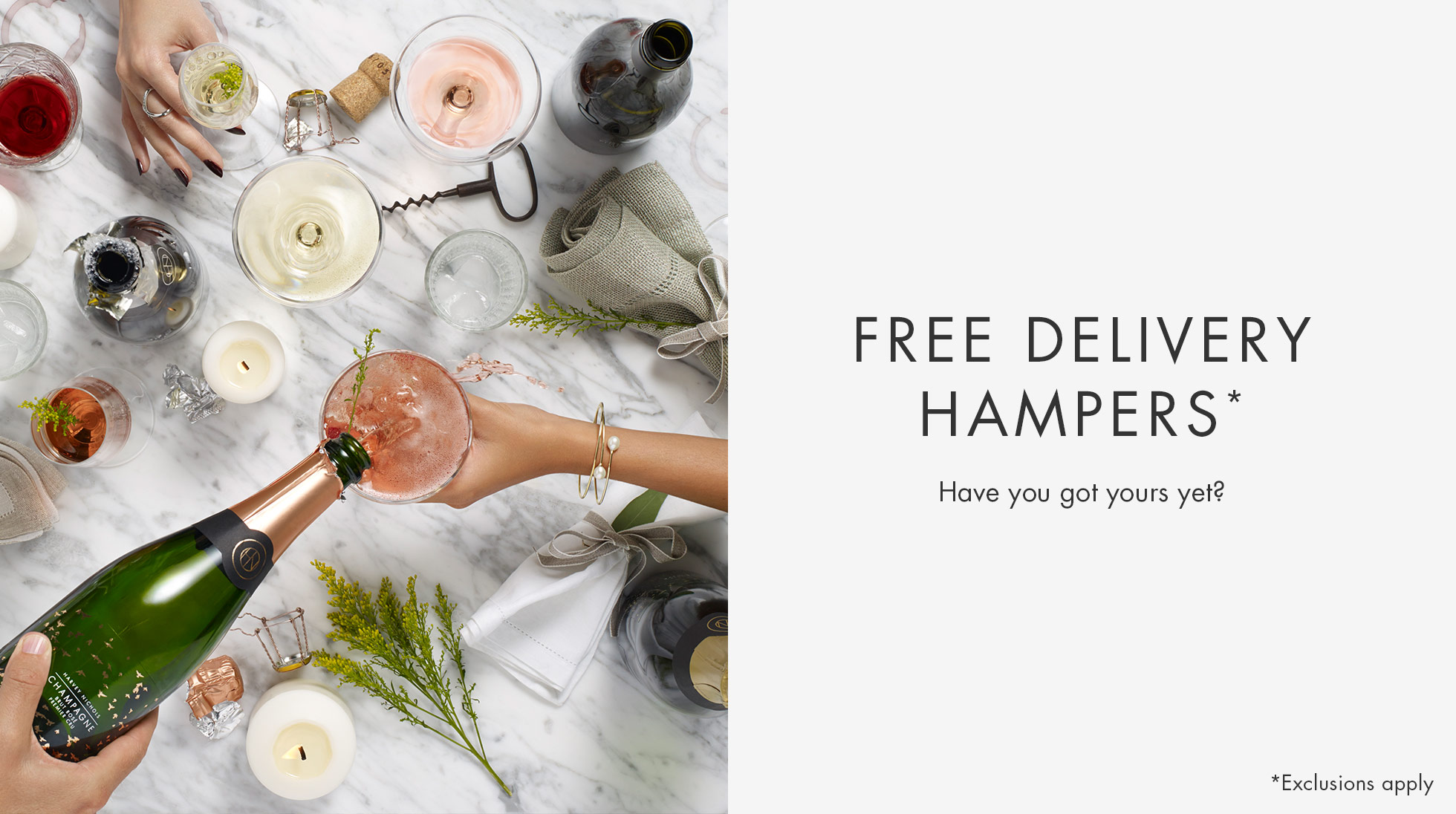FREE DELIVERY HAMPERS