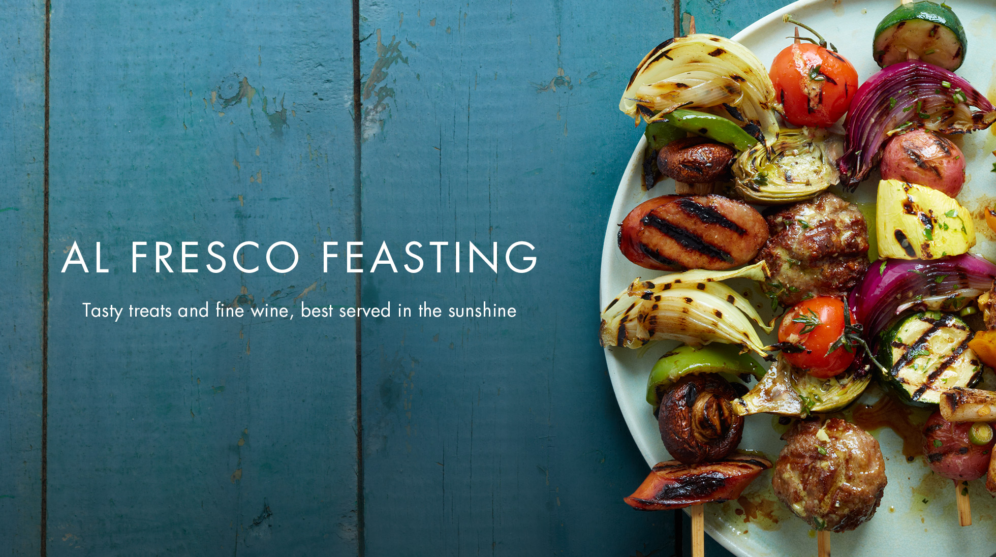 AL FRESCO FEASTING