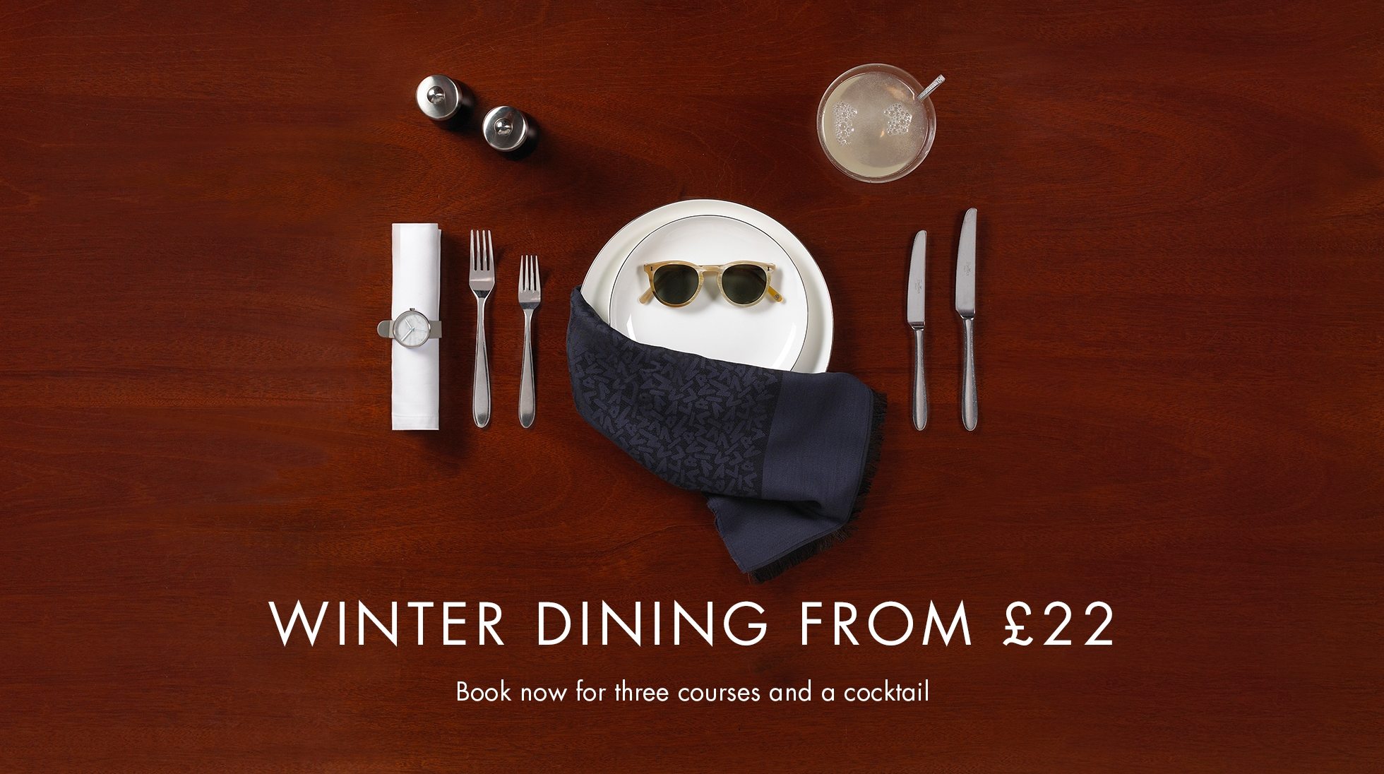 Winter Dining from £22
