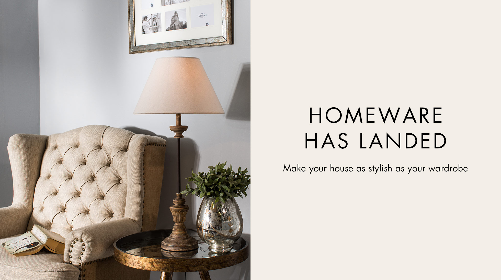 HOMEWARE HAS LANDED