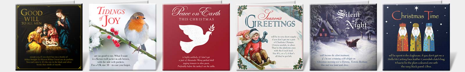 Christmas Card Samples