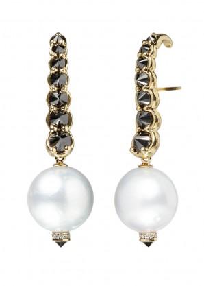 Ara Vartanian Pearls and diamonds earrings
