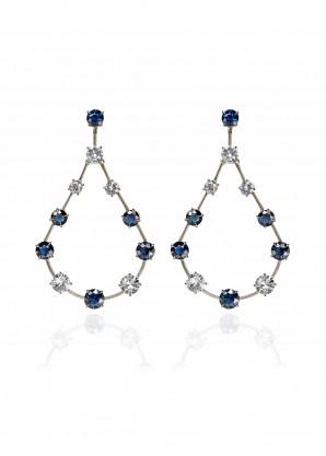 Ara Vartanian Sapphire and diamonds earrings