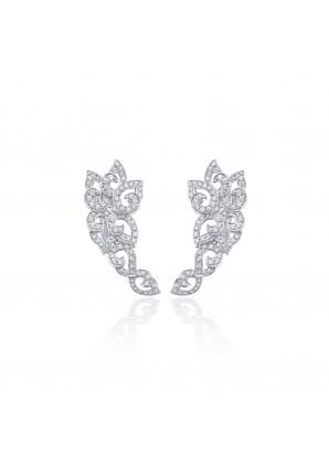 Niquesa 18k white gold white diamonds