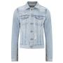 Robyn light blue distressed denim jacket