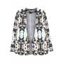 Inner Light floral print crepe blazer